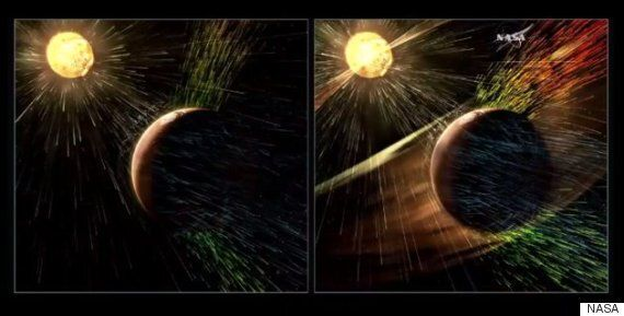 나사가 화성 대기에 대한 중요한 발견을 발표했다(사진,