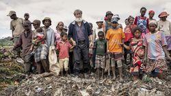 Le père Pedro à Madagascar a construit une ville sur un tas