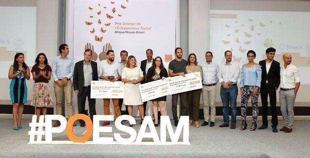 Orange Tunisie dévoile les 3 lauréats du Prix Orange de l'Entrepreneur Social Afrique & Moyen-Orient...