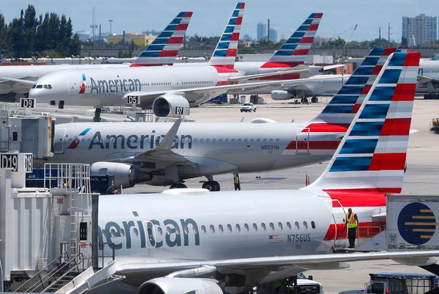 Αεροσκάφη της American Airlines στο...