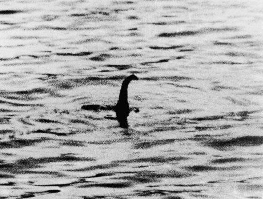 Imagen icónica del monstruo del lago