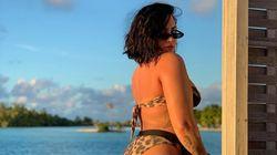Demi Lovato s'assume en bikini sans retouche