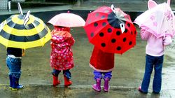 Nueve paraguas divertidos de niños para que estén listos para la vuelta al