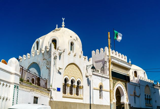 Sidi Abder Rahman Mosque at the Casbah of Algiers. Algeria, North
