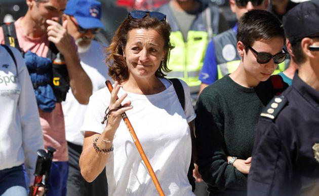 Lola Fernández Ochoa, hermana de Blanca Fernández