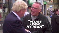 """Il invite Boris Johnson à """"quitter sa ville"""" et devient l'idole de nombreux"""
