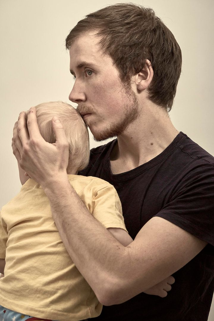 Freddy McConnell and son, photographed by Manuel Vasquez.