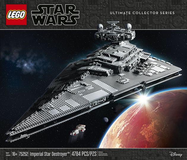 Le nouveau Imperial Star Destroyer est le vaisseau Lego Star Wars le plus grand. Il fait plus de 1 mètre...
