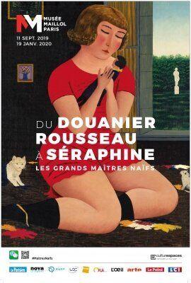 Du douanier Rousseau à Séraphine, les grands maîtres naïfs au Musée Maillol du 11 septembre 2019 au 19...