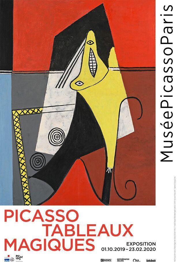 'Picasso. Tableaux magiques' au Musée Picasso de Paris du 1er octobre 2019 au 23 février