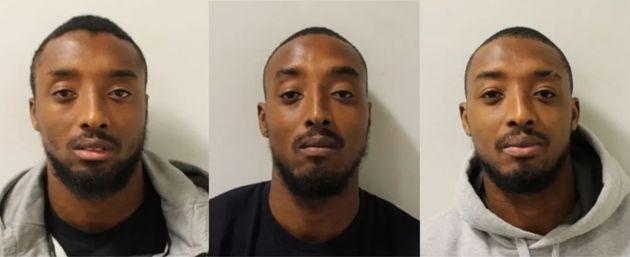 Smirking Identical Triplets Jailed Over Uzi Sub-Machine Gun Plot