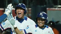 한국 야구 청소년 대표팀이 연장 10회 만에 숙적 일본을