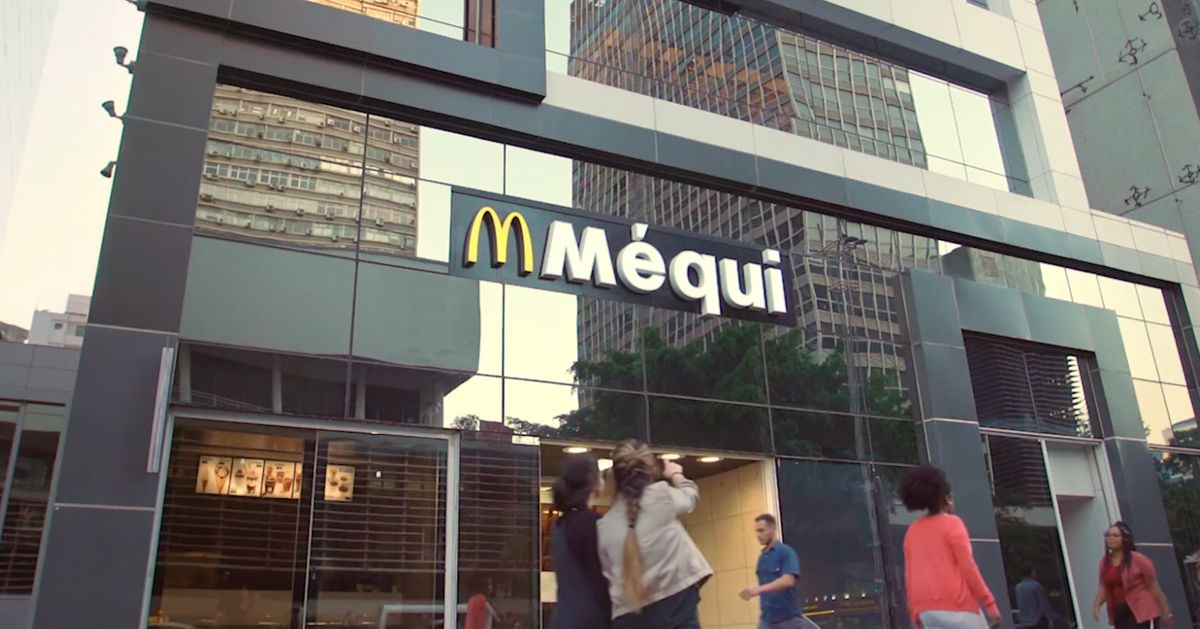 'Méqui'? Por que o McDonald's mudou fachadas de suas lojas