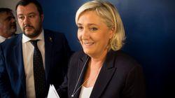 Marine Le Pen fait sa rentrée en plein chamboulement