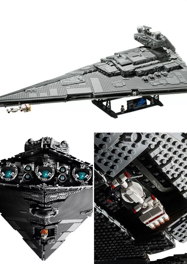 L'imperial Star Destroyer est un immense Lego faisant plus de 1 m de