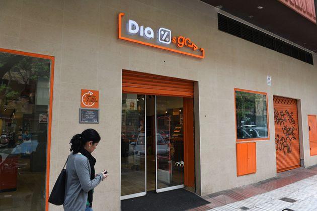 Una tienda 'Dia&Go' de la cadena de supermercados Dia en la ciudad de