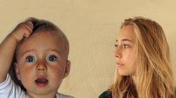아기가 소녀로 성장하는 과정을 4.5분으로 보라(타임랩스