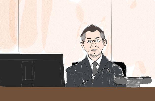 検察官の質問に補足するように守下実裁判長が船戸優里被告に訊ねた=2019年9月6日、東京地裁