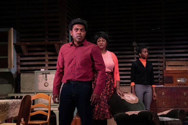 Frédéric Pierre, Myriam De Verger et Tracy Marcelin dans la pièce «Héritage», présentée chez Duceppe jusqu'au 5 octobre.