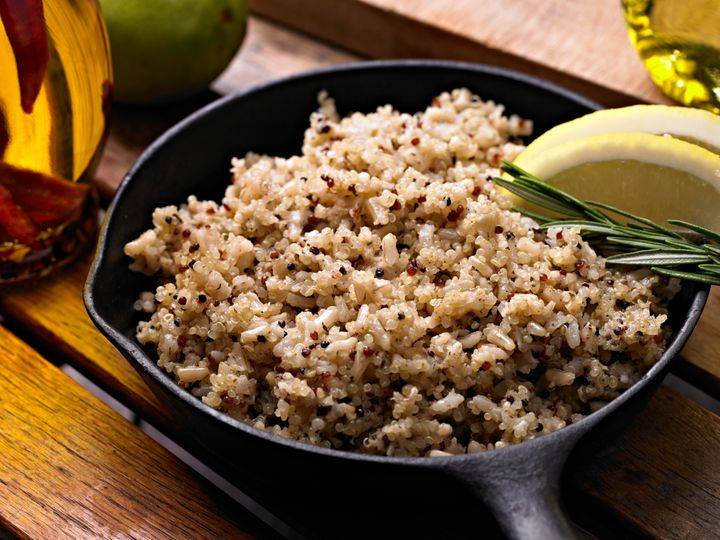Not only is quinoa allowed on all four meal plans, but it's also a great vegetarian source of complete protein.