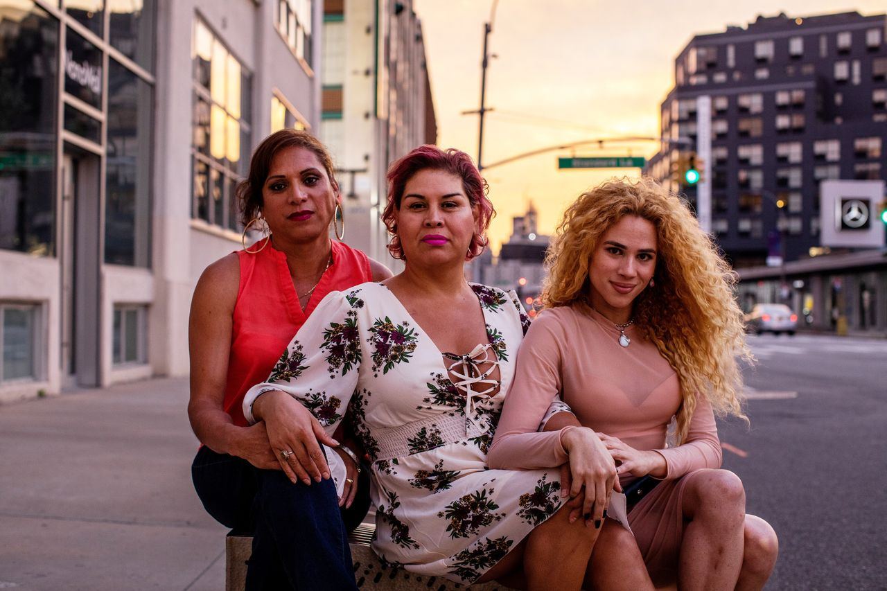 Joselyn Mendoza, Lesly Herrera Castillo and Jonahi Rosa want the Mirror Beauty Cooperative to create jobs for LGBTQ, Latinx and immigrant workers, providing a place where they can feel free to express themselves without fear of discrimination.