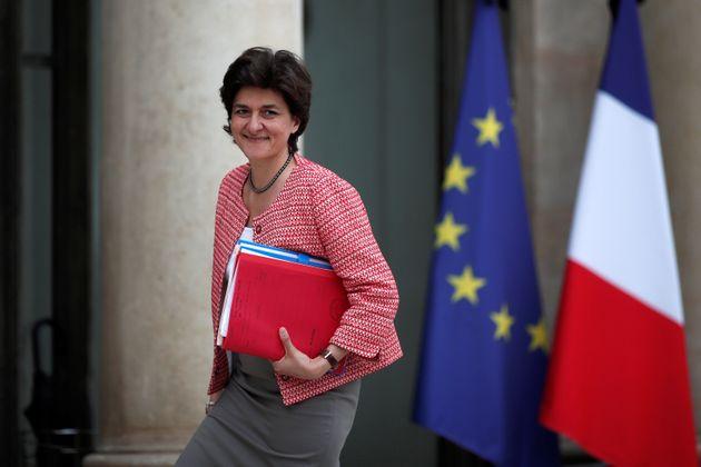 Sylvie Goulard ici à l'Élysée en mai
