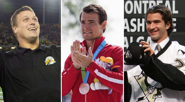 Former CFLer Peter Dyakowski, Olympian Adam van Koevereden, and former NHL prospect Angelo Esposito are all running for Parliament this fall.