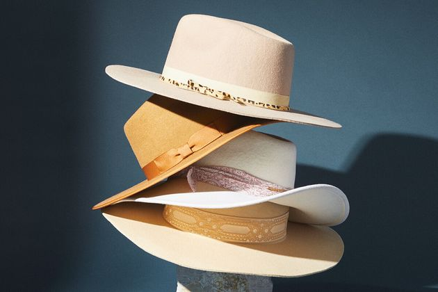 (Pictured: Various hats at
