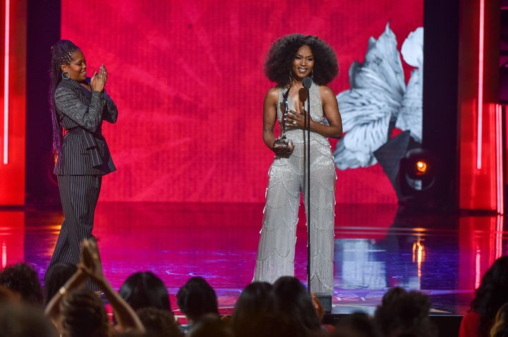 Angela Bassett's Speech On The Power Of Purpose At Black Girls Rock Is A Must-Watch