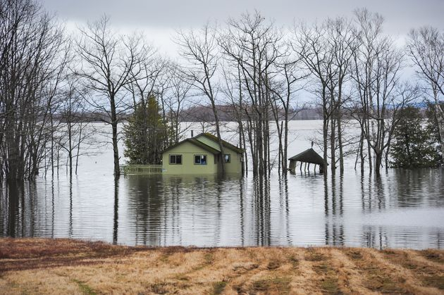 The flooding of the Saint John River, Grand Lake, N.B. in 2019 marks the second consecutive year of major...