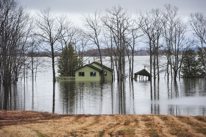 The flooding of the Saint John River, Grand Lake, N.B. in 2019 marks the second consecutive year of major flooding. It is feared climate change will continue to make flooding more commonplace.
