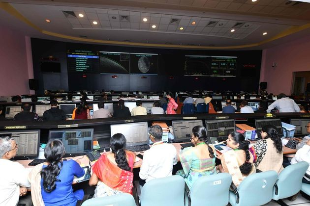 Scientists at ISRO