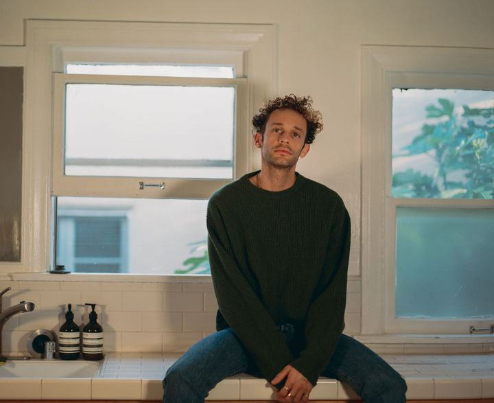 "Wrabel's ""one of those happy people"" marks a personal milestone, as the EP is his first major release as a"