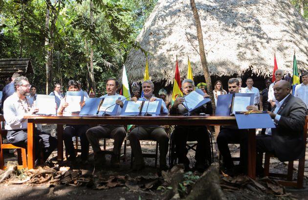 Reunião contou com a presença do ministro das Relações Exteriores, Ernesto