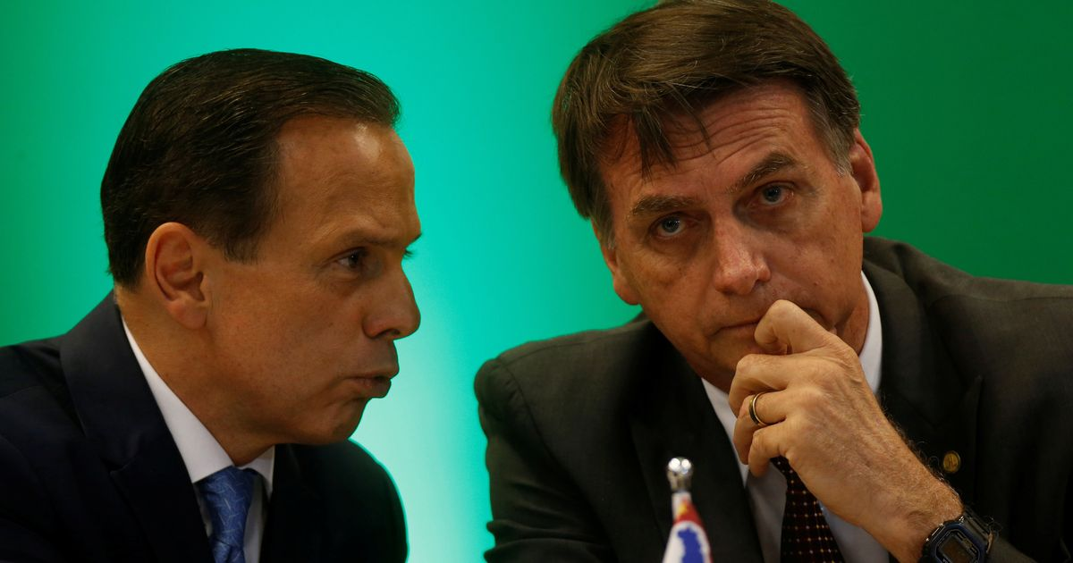 Bolsonaro e Doria travam guerra política de olho na Presidência em 2022