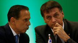 De camisa 'BolsoDoria' a relação institucional: A guerra entre Bolsonaro e