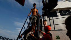 Uno dei naufraghi della Alan Kurdi ha tentato