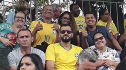 Eleitores respondem a Bolsonaro e lotam Esplanada com verde e amarelo no 7 de
