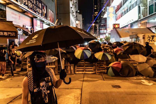 Des manifestants pro-démocratie à Hong Kong le 6 septembre