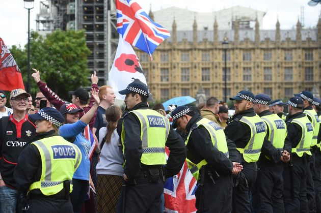 MP Frightened To Speak As Pro And Anti-Brexit Protesters Clash On Parliament Square