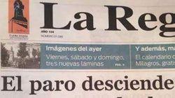 Cachondeo por este titular de un periódico de Ourense sobre el