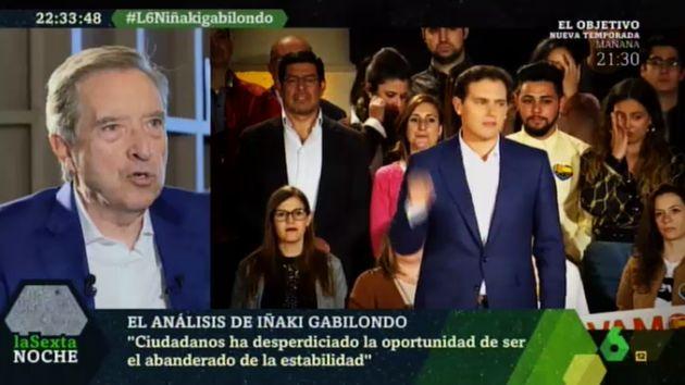 Iñaki Gabilondo en 'LaSexta