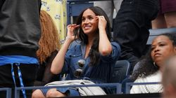 Meghan Markle Made A Surprise Appearance At The U.S. Open To Cheer On Serena