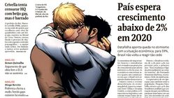 Brazil Newspaper Splashes Gay Avengers Kiss On Front Page To Defy Evangelical