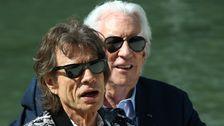 Mick Jagger Wimpern Trumpf Für Die Vernichtung Der Umwelt Schutz