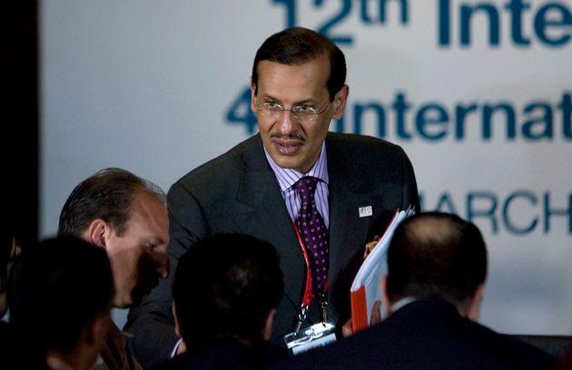 In this March 31, 2010, file photo, Saudi Arabia's Prince Abdulaziz bin Salman attends the International...