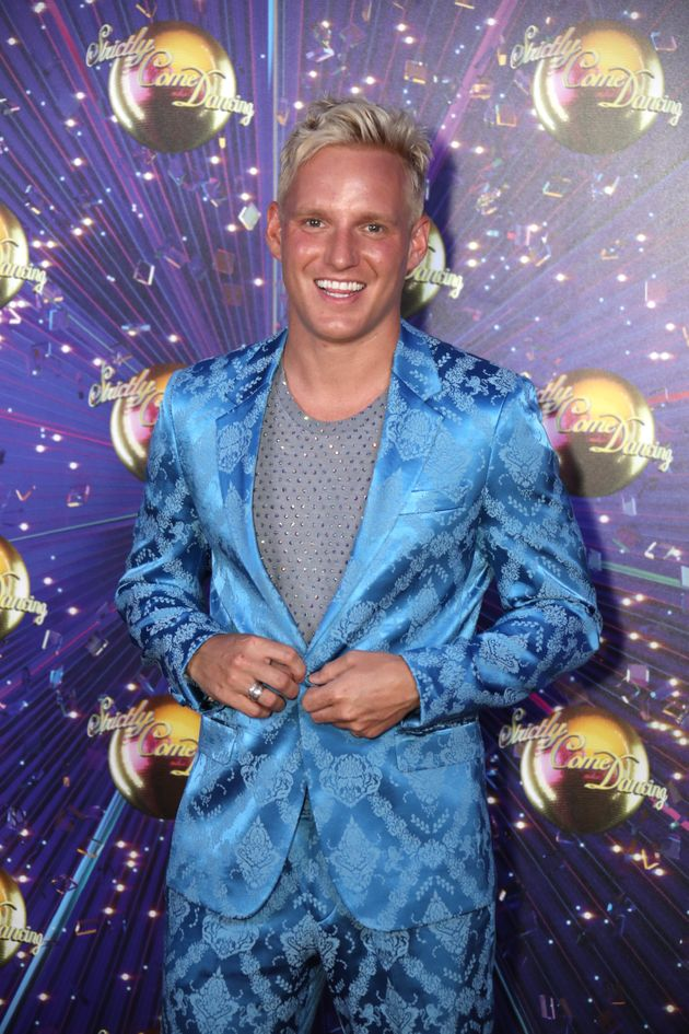 Jamie Laing was forced to withdraw from