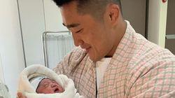 득남한 김동현이 아기와 팬들에게 전한