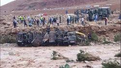 Province d'Errachidia: Six morts dans le renversement d'un autocar à cause des