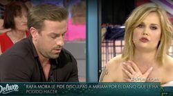 Miriam Sánchez deja balbuceando a Rafa Mora con este comentario en 'Sábado